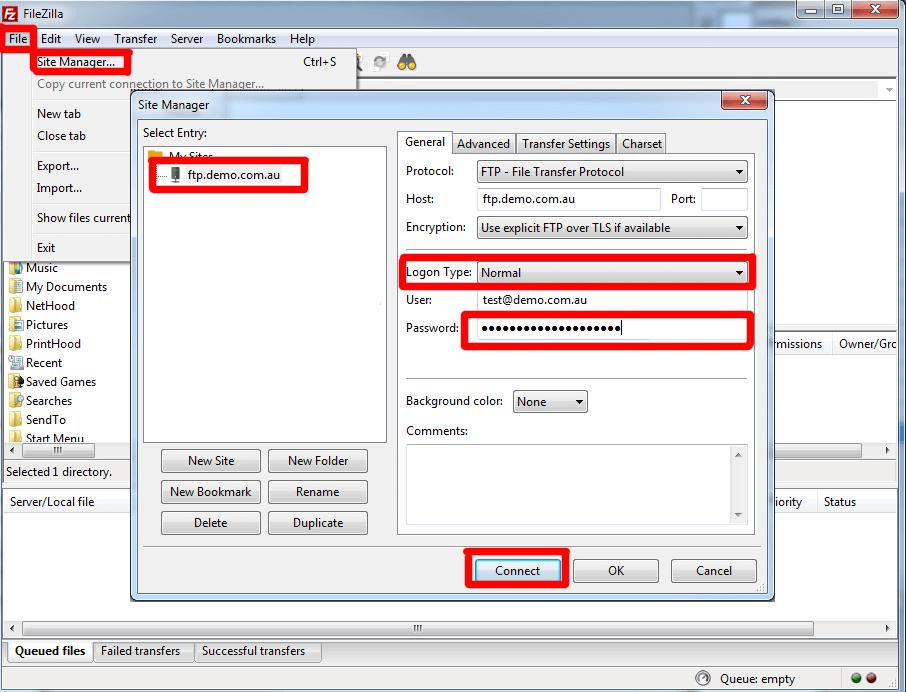 How to Setup Filezilla - Typical Hosting Blog